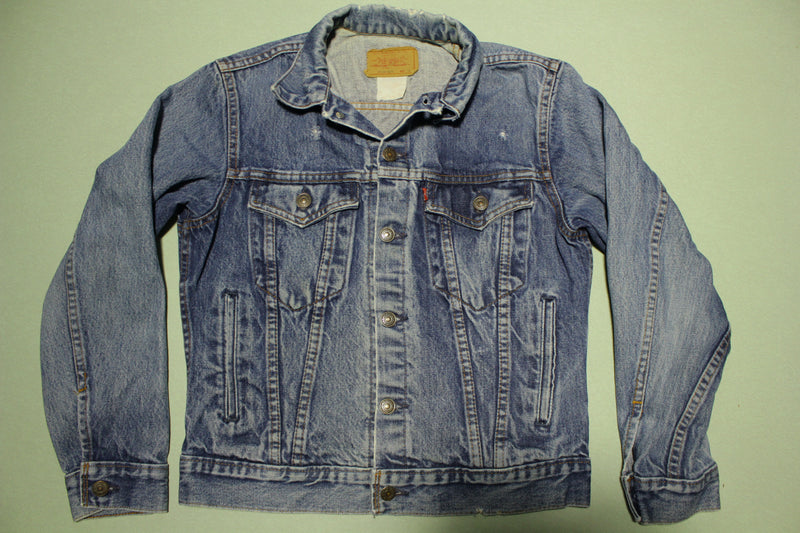 Levis 1980's Vintage Made in Canada Type 3 Denim Jean Jacket XS