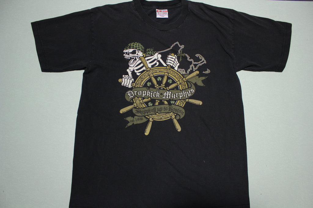 Dropkick Murphys Shipping Up To Boston 2005 Concert T-Shirt