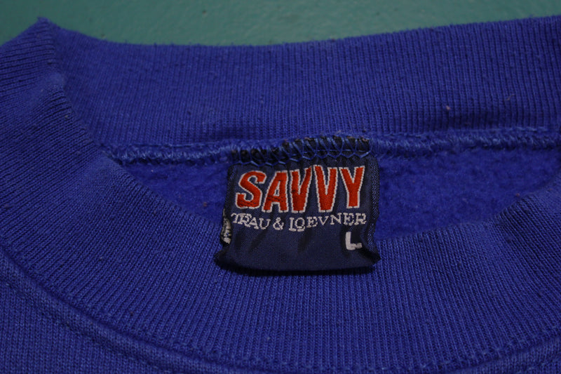 California Logo Savvy Made in USA 80's Vintage Crewneck Sweatshirt Bitchin'