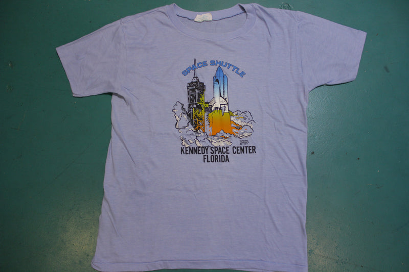 1989 Space Shuttle Kennedy Space Center Florida 80's Vintage T-shirt