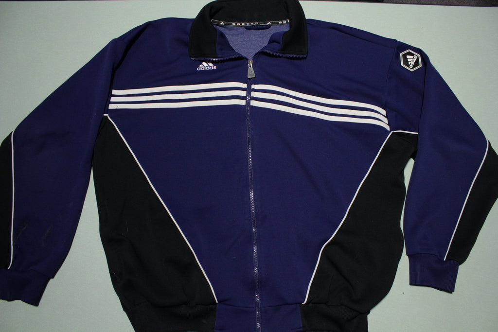 Adidas Striped Color Block Vintage 90's Track Jacket