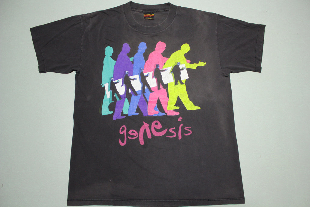 Genesis 1993 The Way We Walk Vintage Brockum Concert T-Shirt