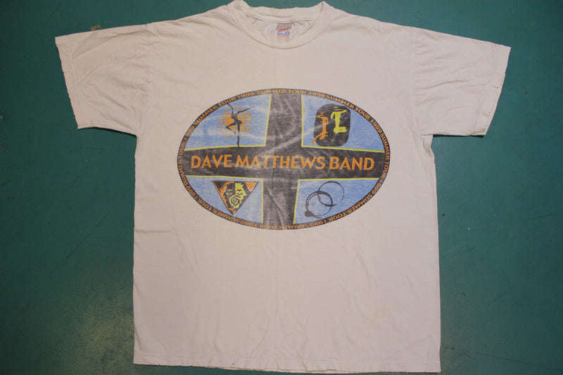 Dave Matthews Band 1999 Summer Tour Made in USA Crewneck T-shirt