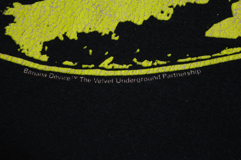 Lou Reed The Velvet Underground & Nico Banana Graphic 90's T-shirt Vintage