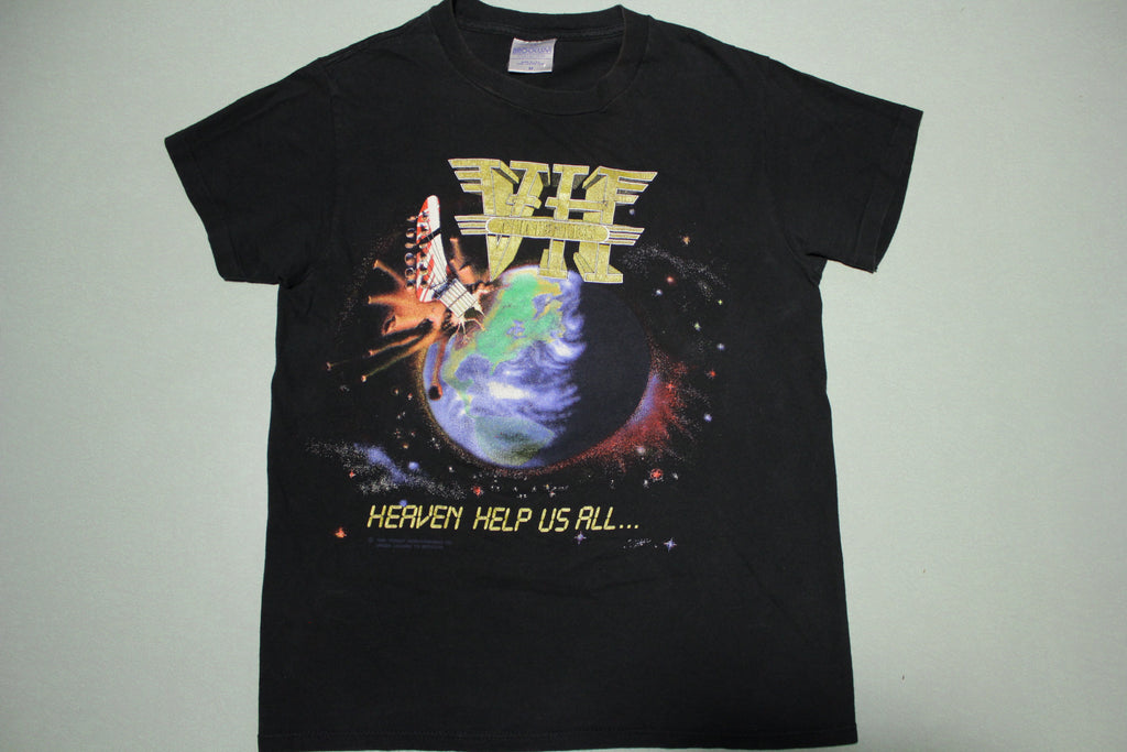 Van Halen Heaven Help Us All Ninety Vintage 1990 Brockum T-Shirt