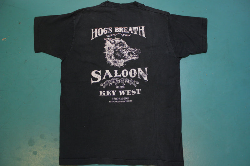Hog's Breath Saloon Single Stitch Made in USA Fruit of the Loom 90's T-shirt