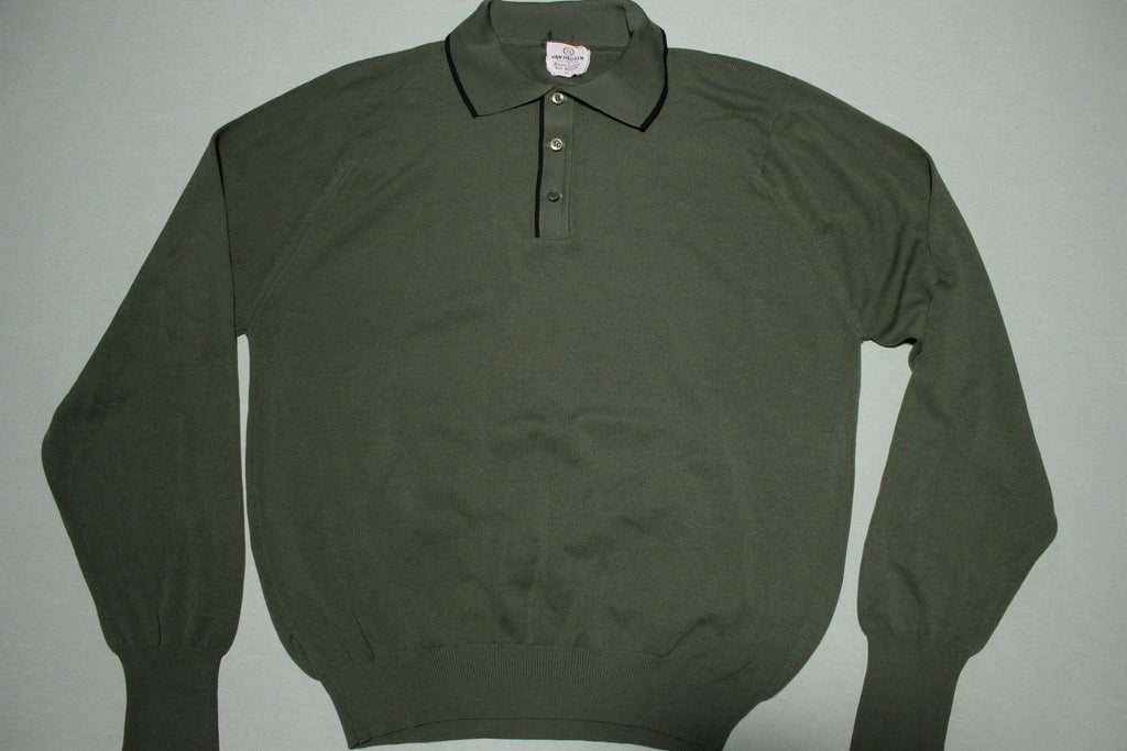 Van Heusen Full Fashion Ban Lon All Nylon Polo Shirt
