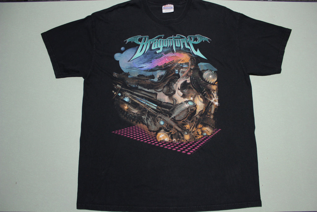 Dragonforce 2006 Heavy Metall Band Graphic Artist T-Shirt