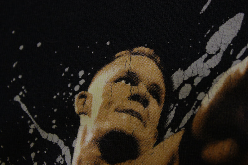 John Cena WWE 2007 Shirtless Graphic Wrestling Title T-shirt World Entertainment