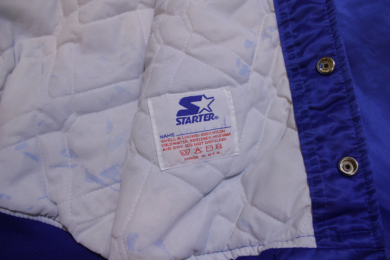 Los Angeles Dodgers Starter Diamond Collection 80's Vintage Satin Jacket