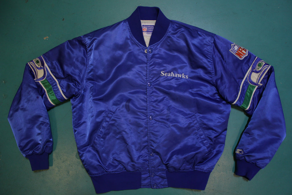Seattle Seahawks 80's Satin Starter Vintage Jacket