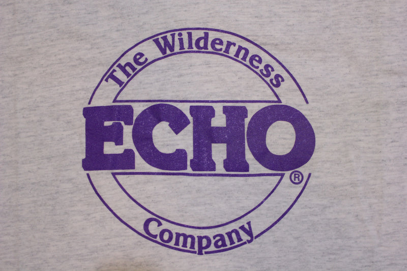 Echo The Wilderness Company Made in USA Vintage 90's T-shirt