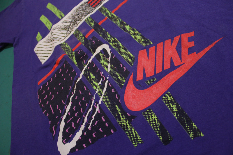 Nike Gray Tag Single Stitch Made in USA Loud 80's Vintage T-shirt