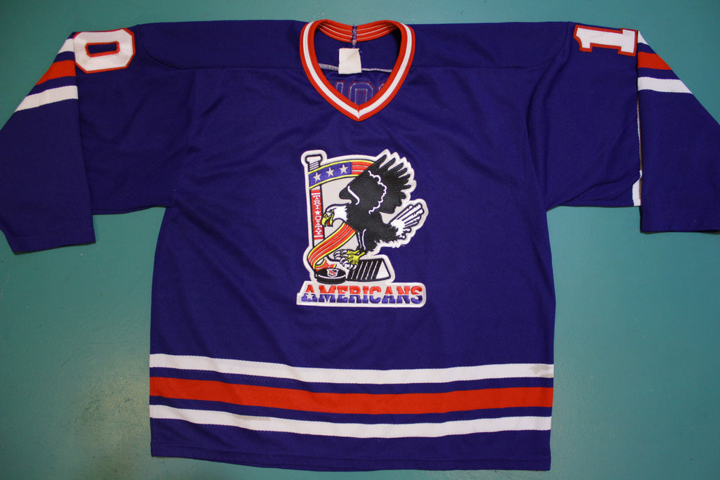 Tri-City Americans Game Worn 1994-95 Robert Petrovicky #10 Hockey Jersey 90's