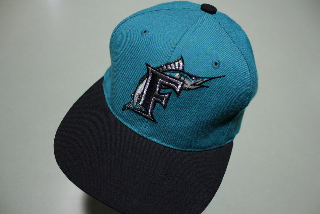 Florida Marlins Wool American Needle Adjustable Back Snapback Hat