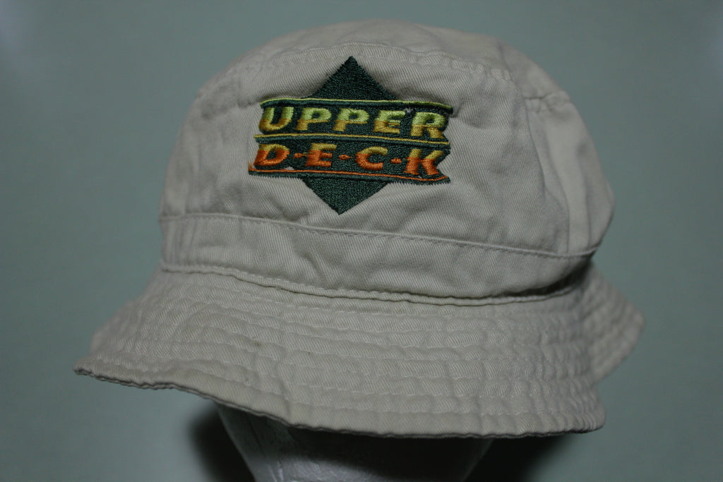 Upper Deck Baseball Cards Vintage 90's Bucket Hat