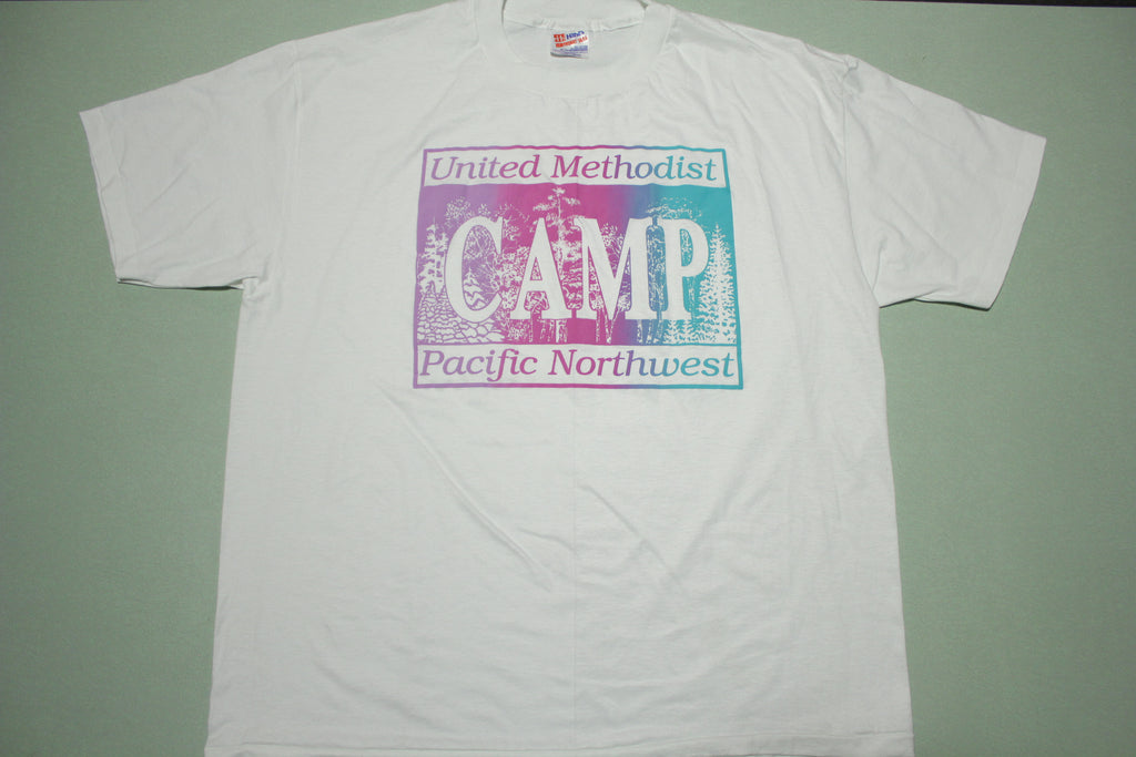 United Methodist Pacific Northwest Camp Vintage 80's USA T-Shirt