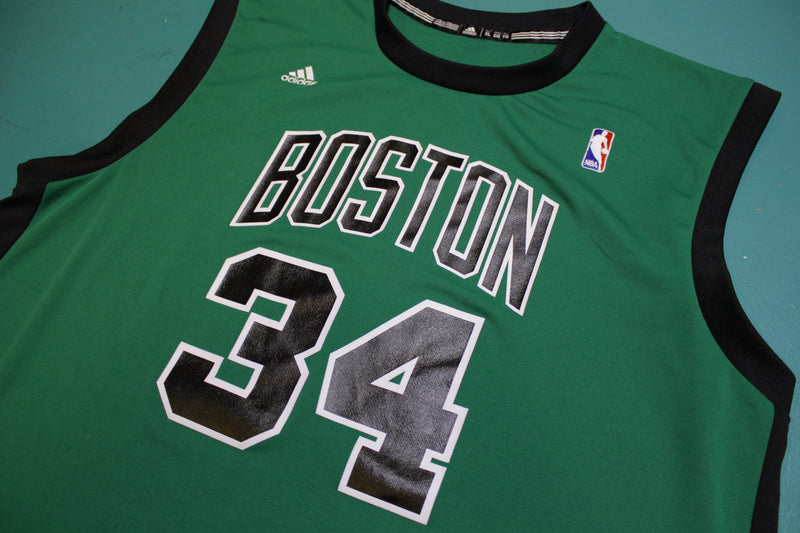 Paul Pierce Adidas Green Boston Celtics Jersey #34