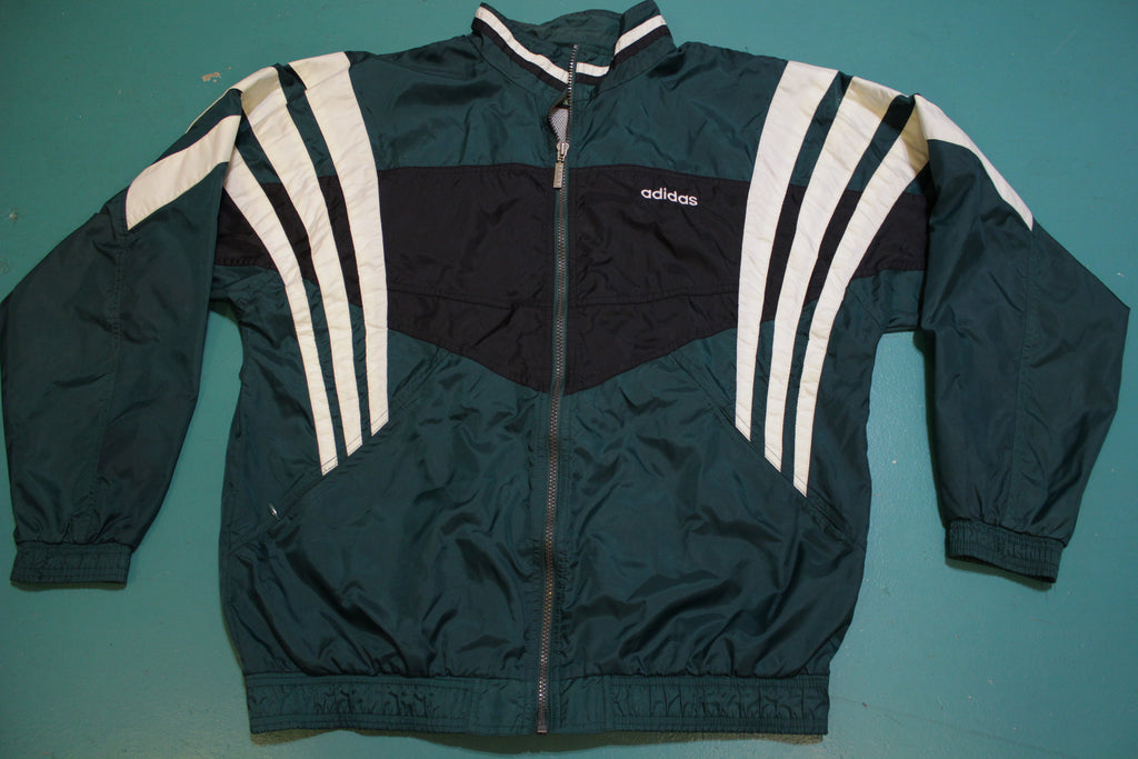 Adidas 90's Striped Original Vintage Colorblock Windbreaker
