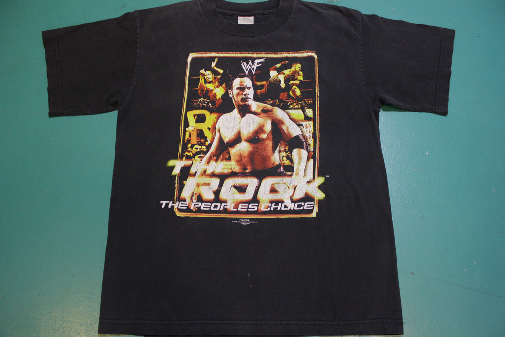 1999 Wresting WWF The Rock The People's Choice Vintage 90's T-shirt
