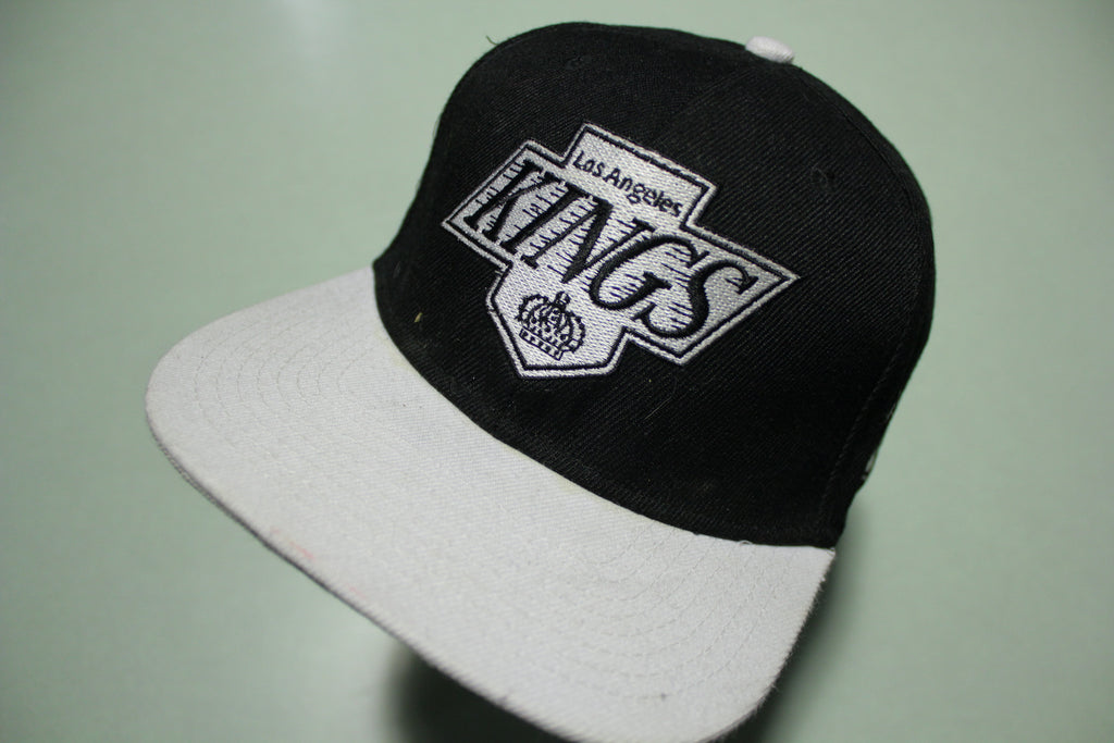 Los Angeles Kings Wool NHL  Mitchell Ness Adjustable Snapback Hockey Hat