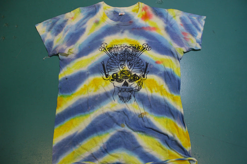 Grateful Dead 1985 Spring Tour Made in USA Vintage Single Stitch Tie Dye T-shirt