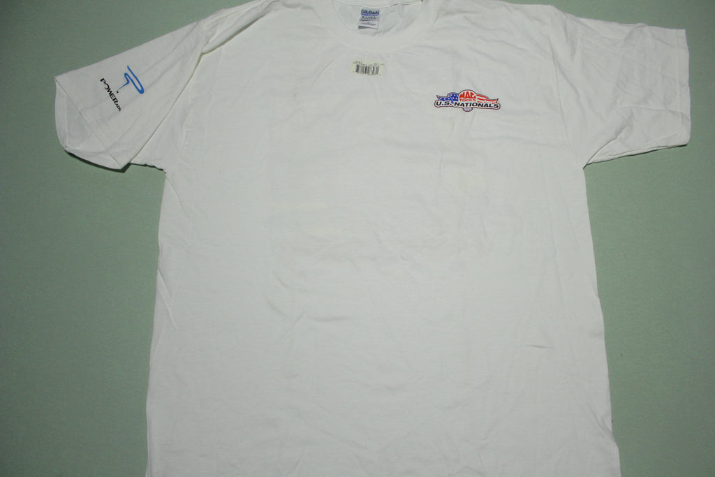 PowerAde 2003 Mac Tools NHRA Drag U.S. Nationals T-Shirt