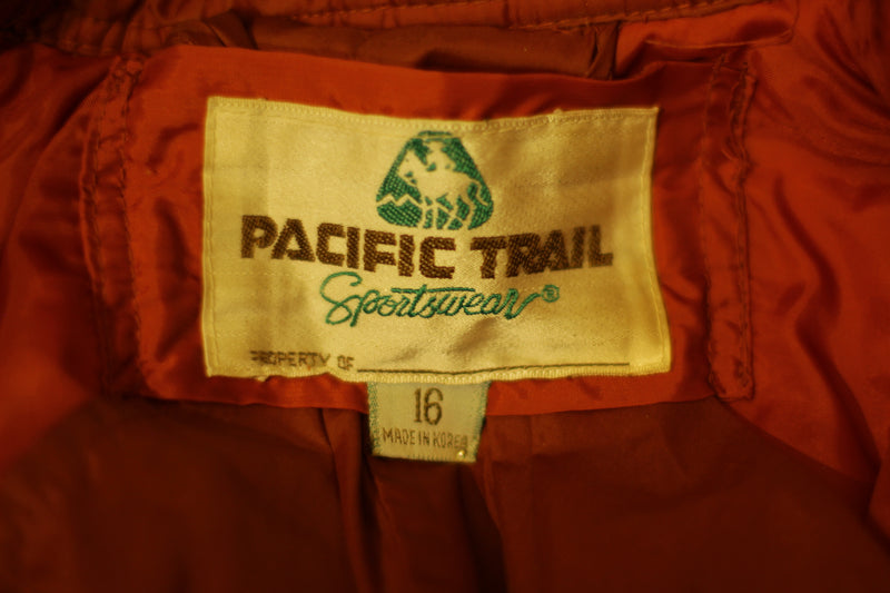 Amazing 1980's Pacific Trail Puffy Coat.