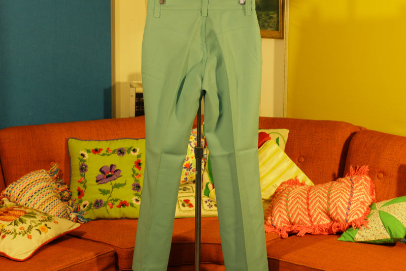 Vintage Lee Green Slacks.  Wow! Nice.