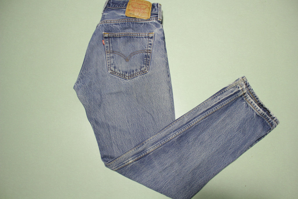 90s Levis 501 Button Fly Jeans. Vintage, Made in USA 501xx 32x30 Denim