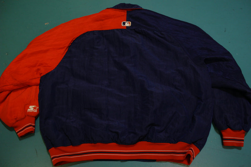 Cleveland Indians Diamond Collection Vintage 80's USA Quilt Lined Starter Jacket