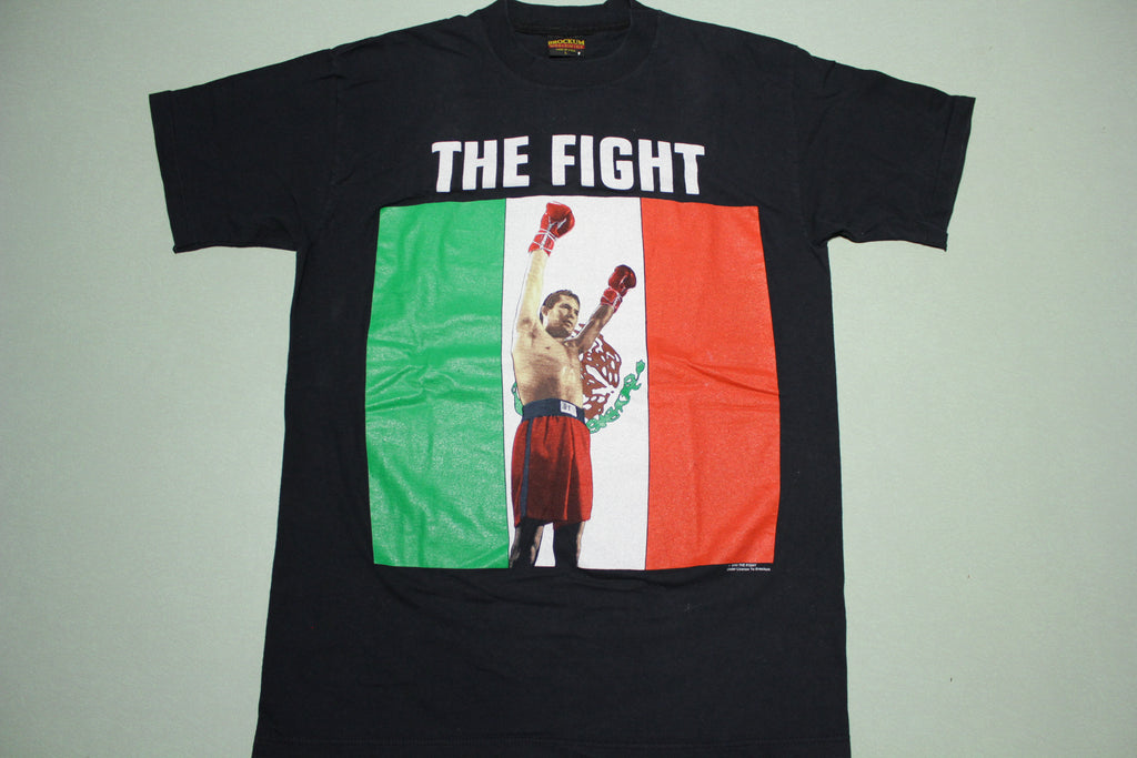 Julio Cesar Chavez The Fight Vintage 90's 1993 Brockum USA Boxing T-Shirt