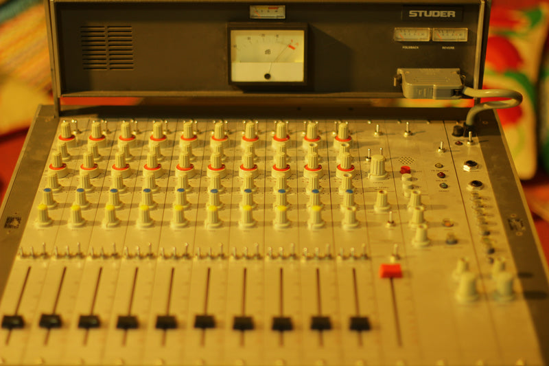 Studer 169 10 Channel Professional Mixing Console. Vintage Mixer w/ Direct Outs