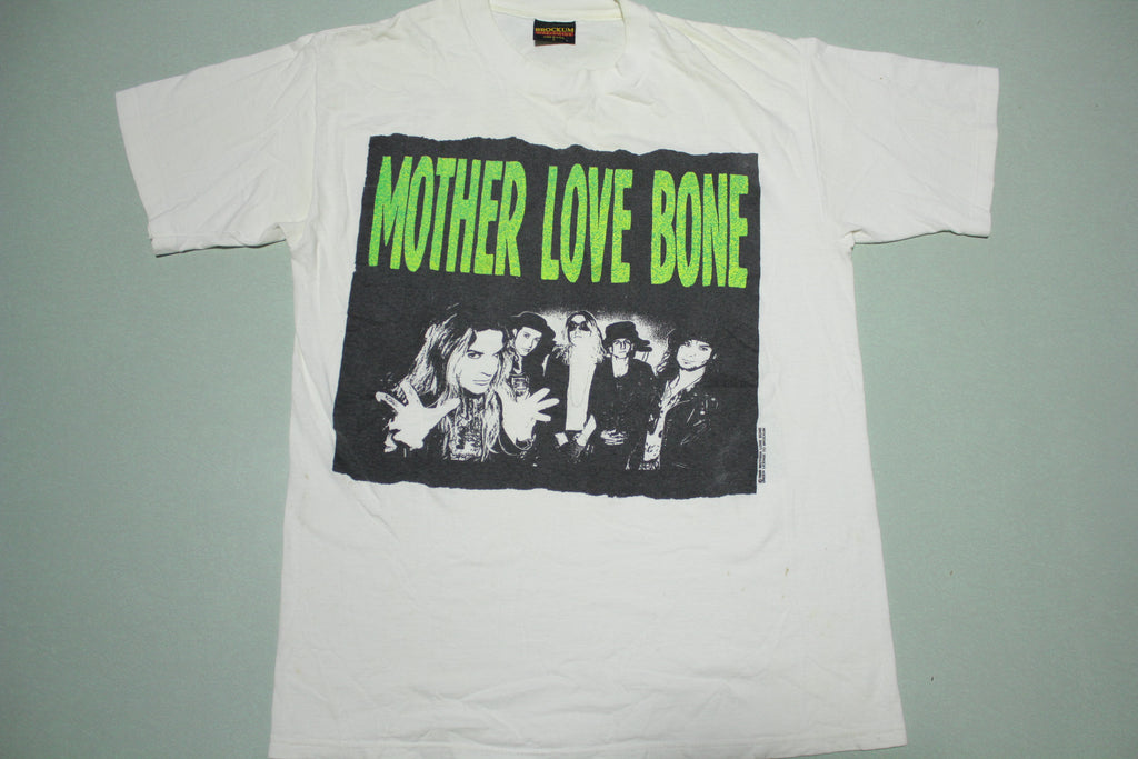 Mother Love Bone Half Ass Monkey Boy Vintage 1990 Brockum USA T-Shirt