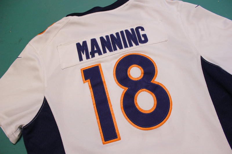 Nike Peyton Manning #18 Denver Broncos Authentic Football Jersey