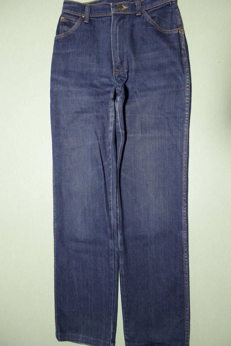 Wrangler Vintage Women's Junior 80's Dark Wash N4095PW Denim Jeans