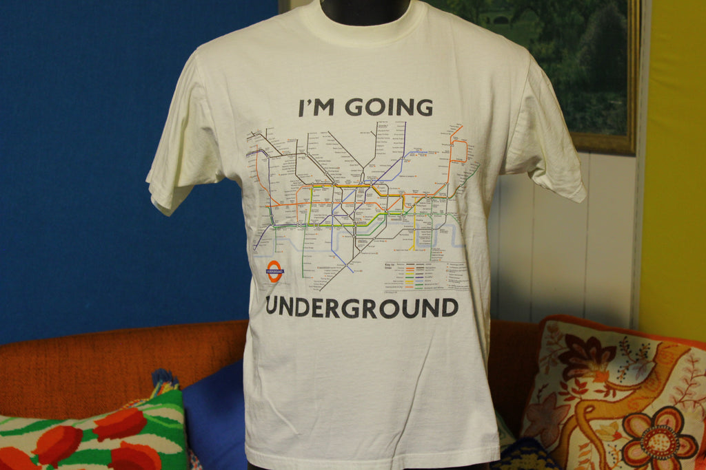 Vintage London Underground Authentic Official Subway Shirt