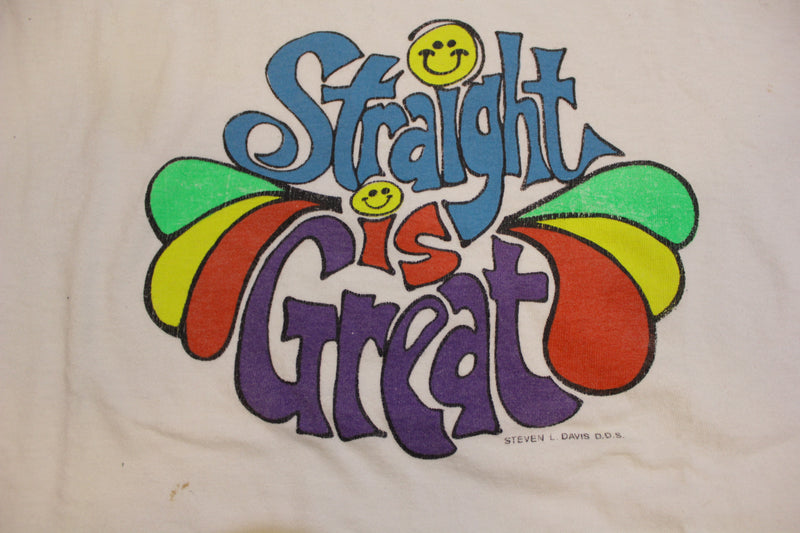 Straight is Great Original But Im A Cheerleader Natasha Lyonne Vintage 80's T-Shirt