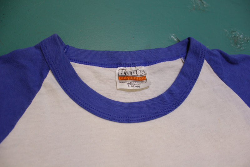 Penn Racquetball Vintage Hanes Poly Cotton 80's Single Stitch T-Shirt