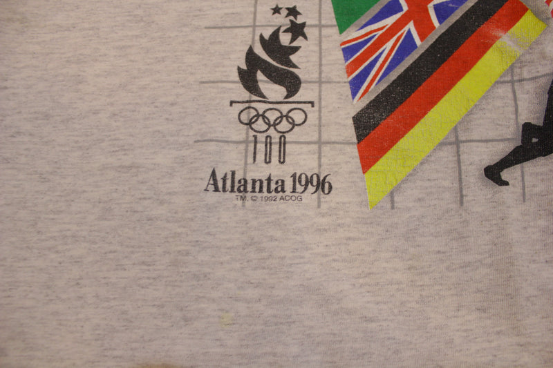 Atlanta 1996 Olympic Games XXVI 90's Single Stitch Vintage T-Shirt.