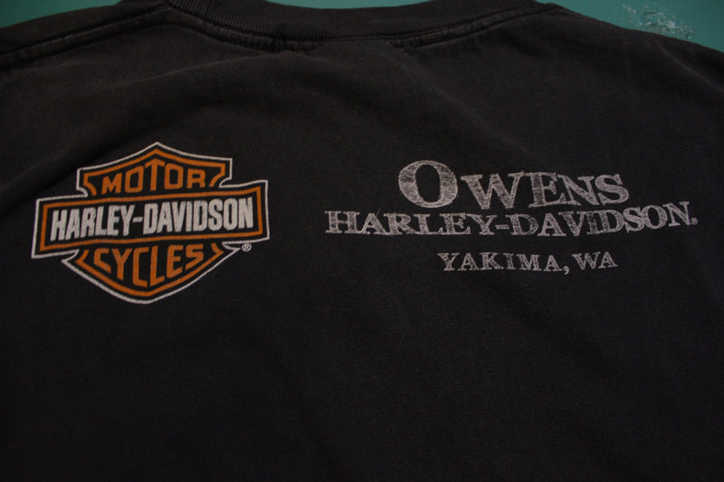 Harley Davidson Motorcycles Spirit of Freedom Owens Yakima Made In USA T-Shirt