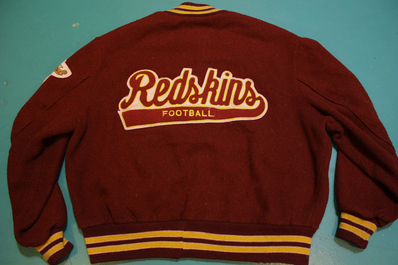 Washington Redskins Vintage 80's DeLong Lettermans Superbowl XXII XVII Jacket