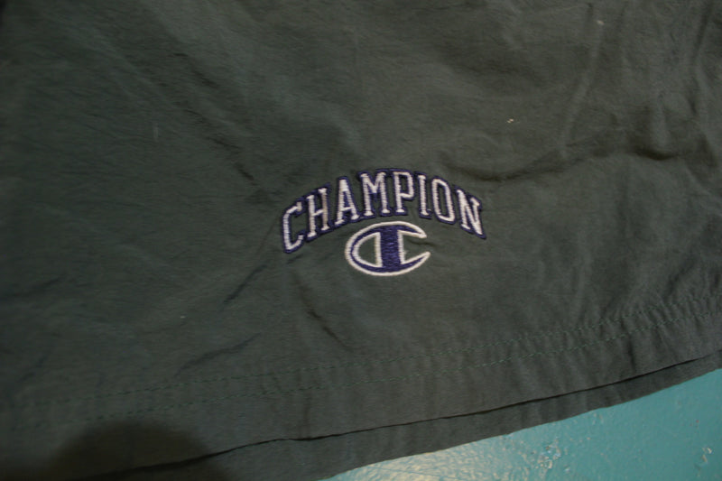 Champion 90's Vintage Embroidered Logo Swimming Shorts / Trunks