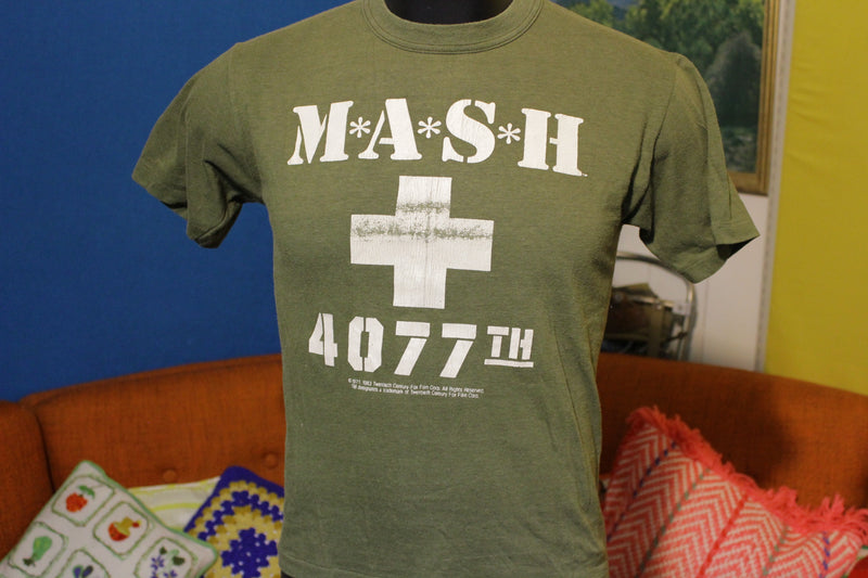 1983 Authentic Mash 4077th 20th Century Fox Games Of The Century Vintage T-Shirt Atari