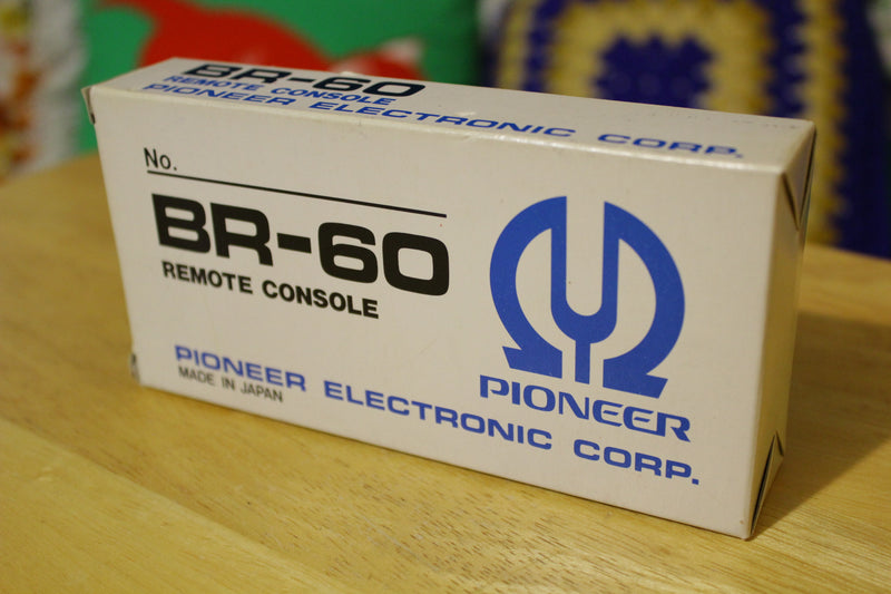Vintage Pioneer Reciever Amp Remote BR-60.  New NIB w/box.  Rare and Retro. 1970's 1980's