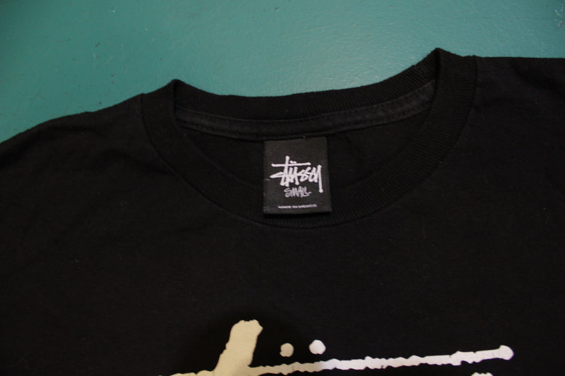 Stussy New York Los Angeles Tokyo London Paris Streetwear T-Shirt