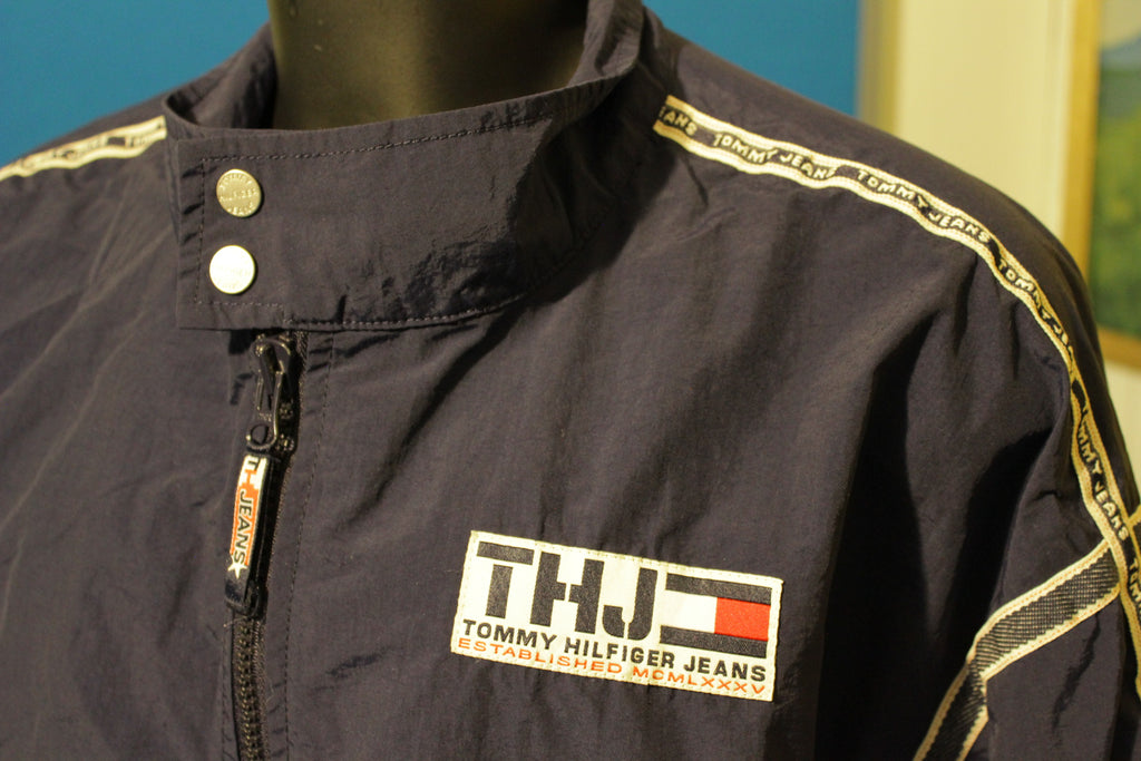 1999 Vintage Tommy Hilfiger Jeans Windbreaker Jacket.  2XL Excellent Shape