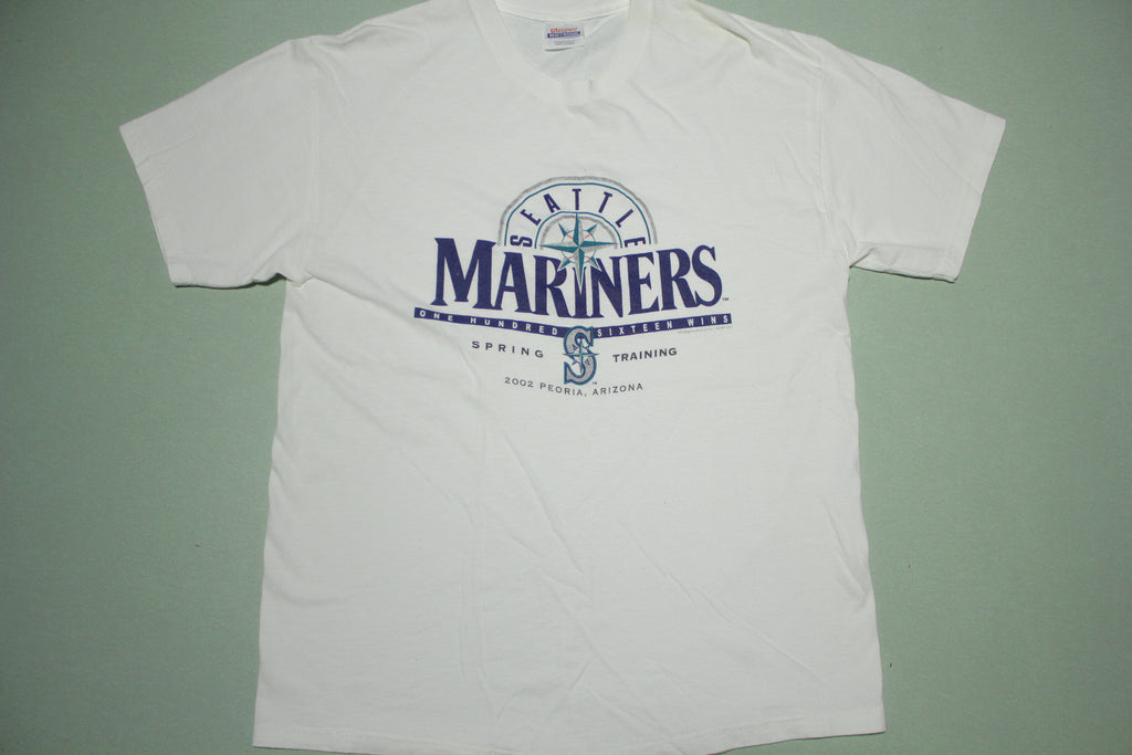 Seattle Mariners 2002 Spring Training Peoria Arizona T-Shirt