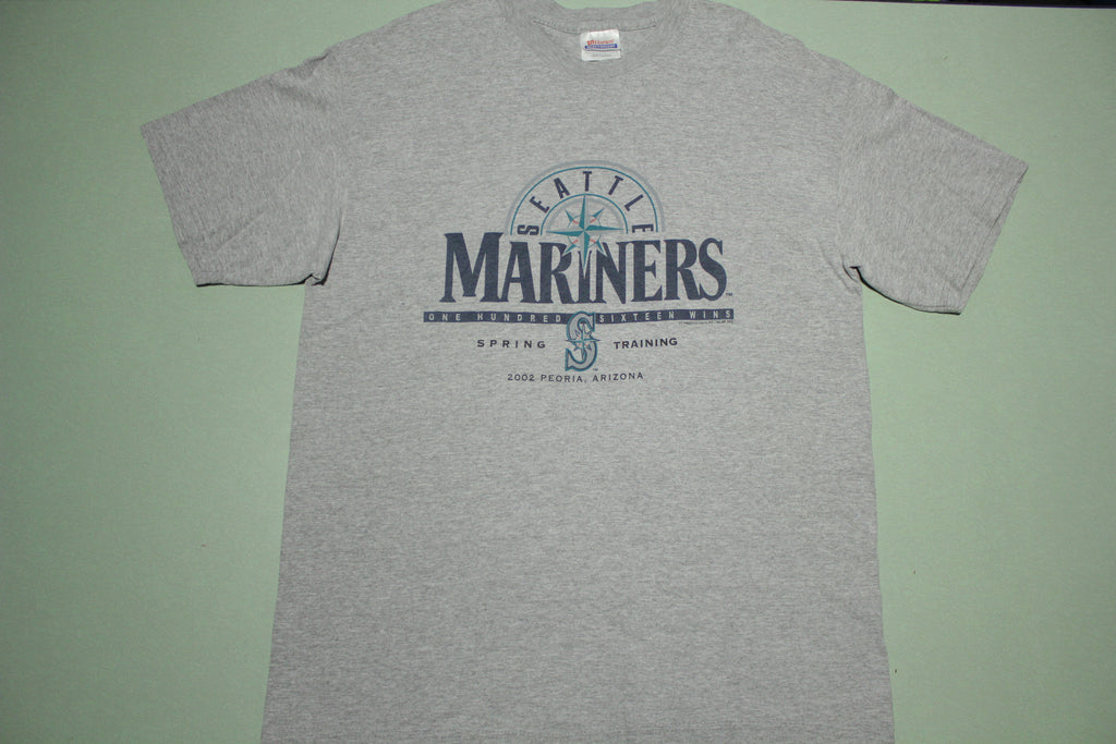 Seattle Mariners 2002 Peoria Arizona Spring Training Baseball T-Shirt
