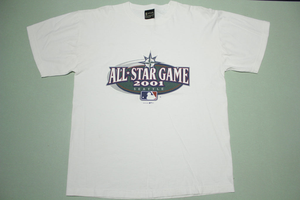 All Star Game 2001 Seattle Vintage Official Promo T-Shirt